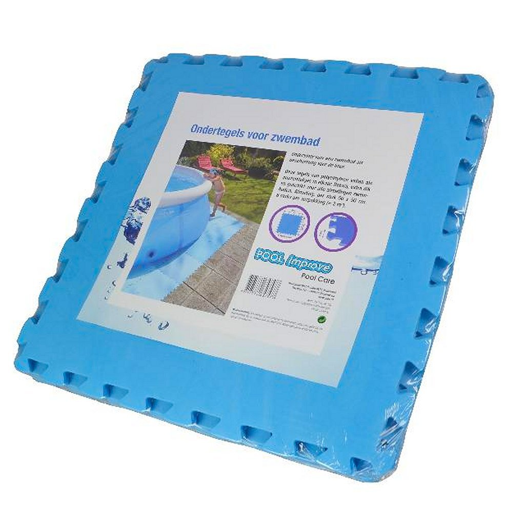 pool Improve Ondertegels voor Zwembad 50x50x0.4 cm 8 Stuks