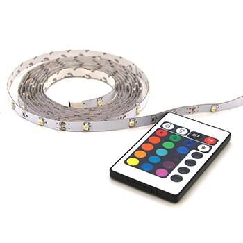 Profile LED STRIP RGB 2M +Afstandsbediening IP20