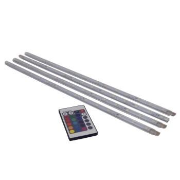 Profile Prolight LED Strip 4 X 40 Cm Met Afstandsbediening IP20