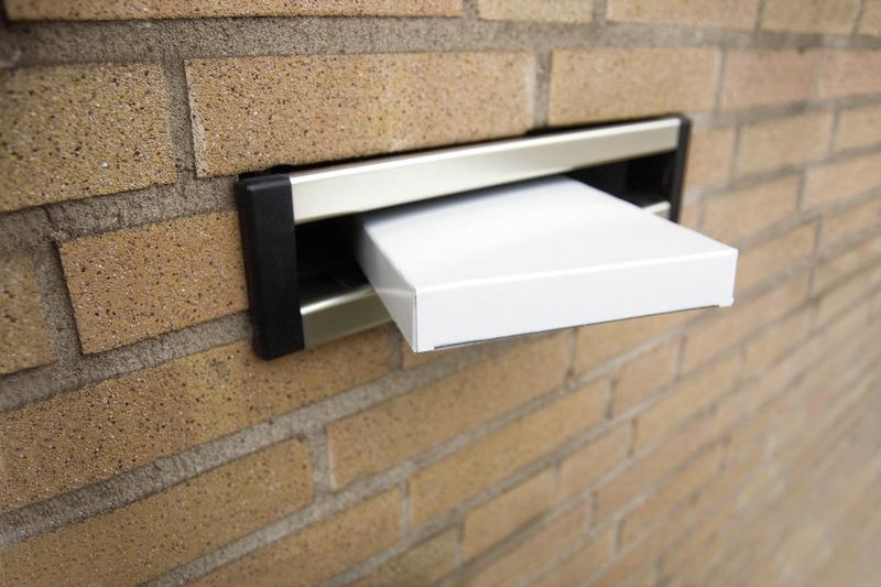 raadhuis rd-351105-5 brievenbusdoos 25x35cm wit 650grs duplex 5 stuks