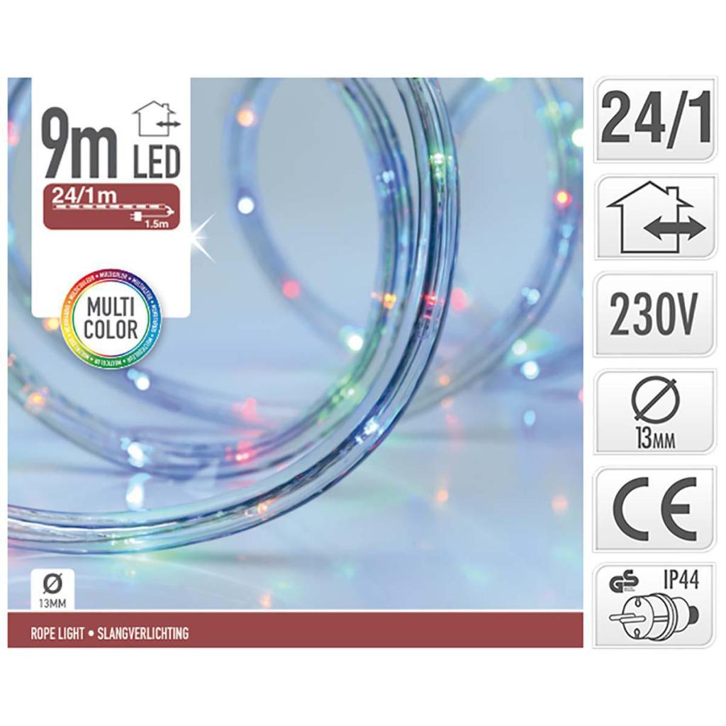 S.I.A. LED Lichtslang Multicolour 9M IP44