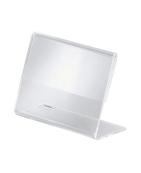 Sigel SI-PA107 Info/prijsstandaard Acryl Transparant Doos A 10 Stuks