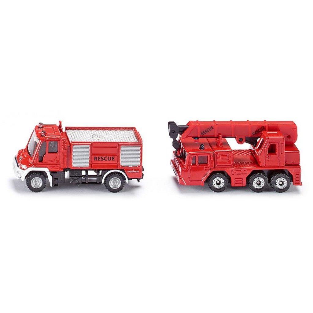 Siku 1661 Brandweerwagens 2 Stuks