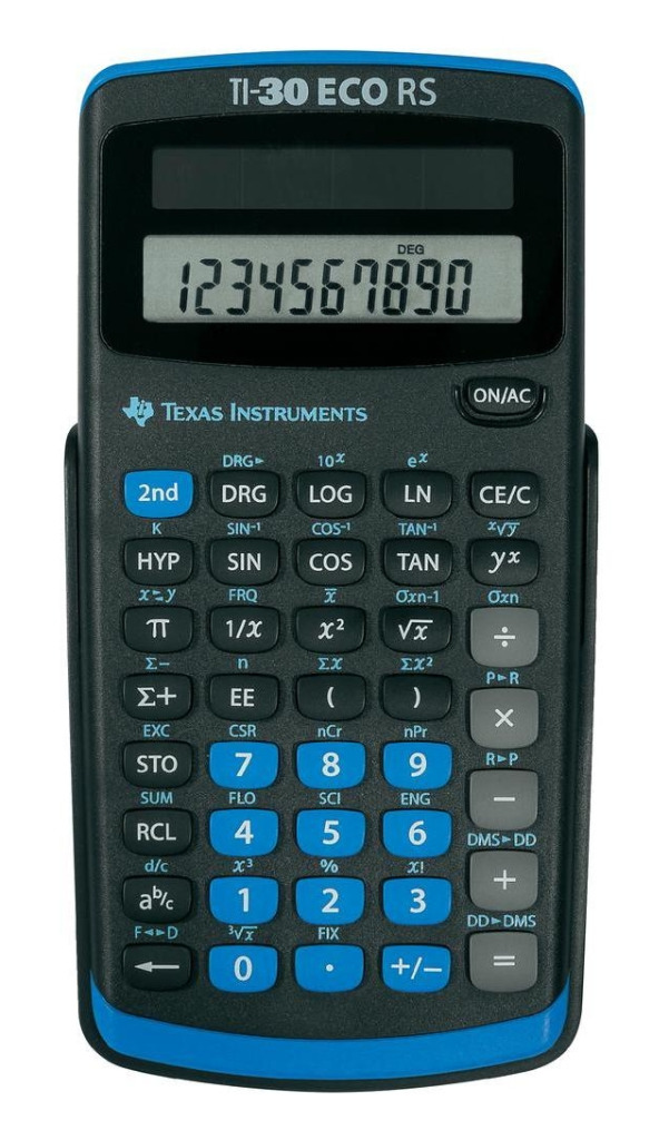 Texas Instruments TI-30RS Calculator TI-30 RS ECO