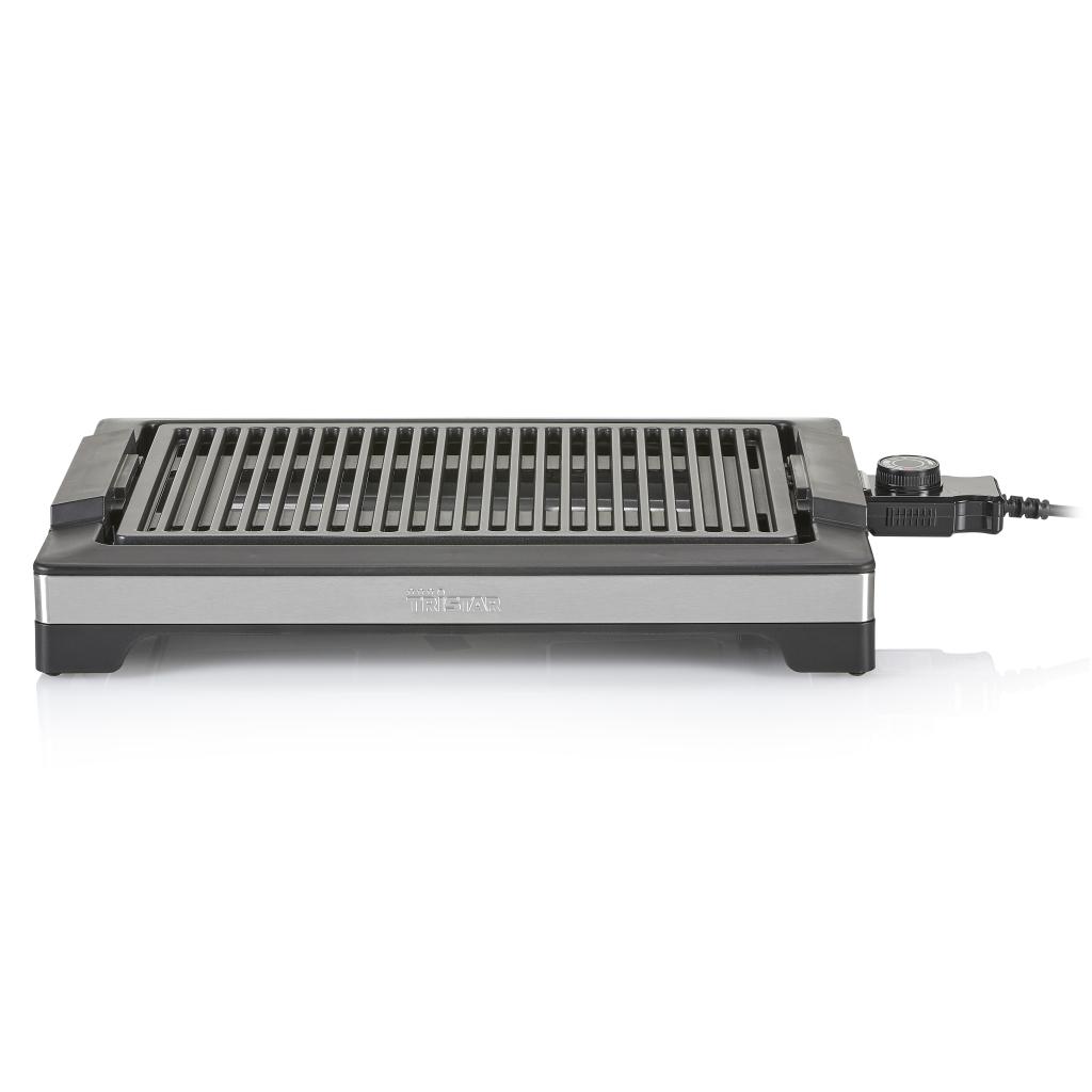 Tristar BP-2780 Tafelgrill-Elektrische BBQ Zwart/RVS