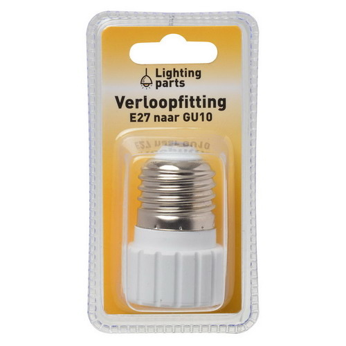 Lighting Parts 54391 Fitting verloop E27-GU10