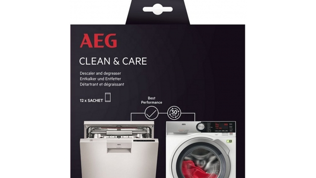 AEG A6WMDW12 Clean And Care Vaat-Wasautomaat Ontkalker en Ontvetter