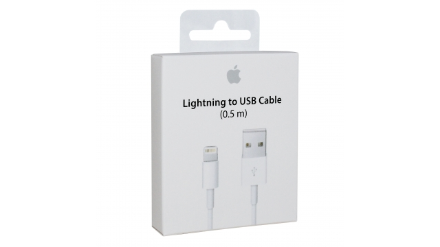 Apple Lightning Laadkabel 0.5M
