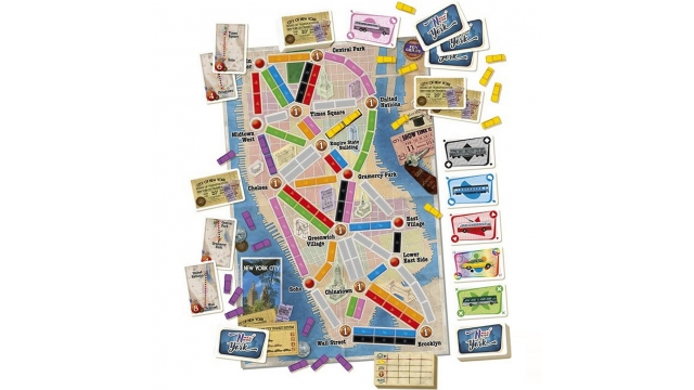 Asmodee Ticket To Ride New York