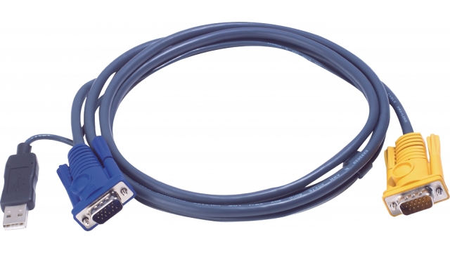 Aten 2L-5202UP Kvm Special Combination Cable, Vga/usb