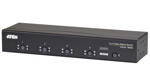 Aten VM0404-AT-G Video/audio Matrix Vga, 4 X 4