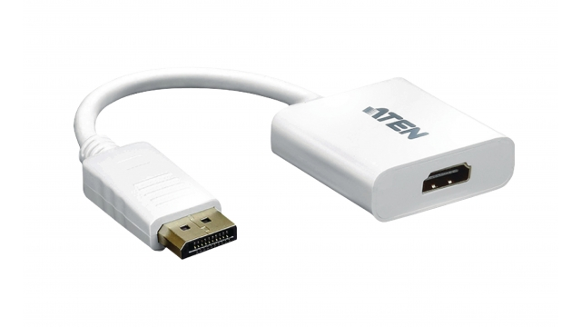 Aten VC985-AT Displayport Kabel Displayport Male - Hdmi Male 0.15 M Wit