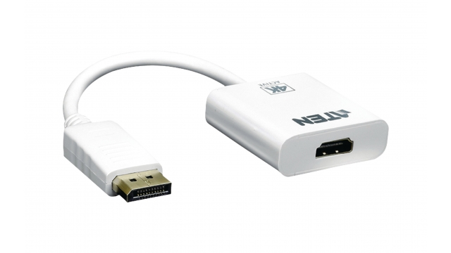 Aten VC986-AT Displayport Kabel Displayport Male - Hdmi-uitgang 0.15 M Wit