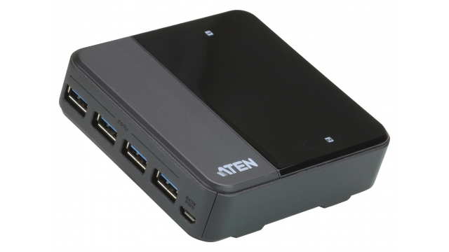 Aten US234-AT 2-port Usb 3.0 Peripheral Sharing Device