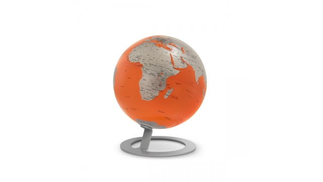 Atmosphere NR-0324IGMO-GB Globe IGlobe Orange 25cm Diameter Metaal/chroom