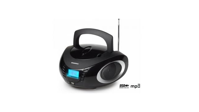 Audiosonic CD-1594 Draagbare Stereo Radio CD/MP3/USB met Wekfunctie