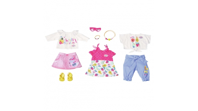 Baby Born Holiday Kledingset 10-delig