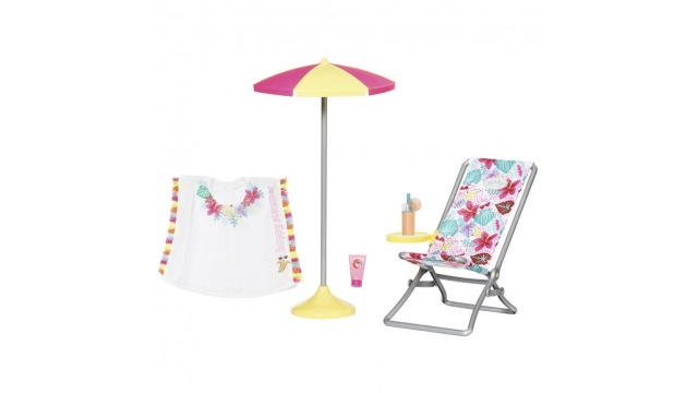 Baby Born Holiday Strandset 5-delig