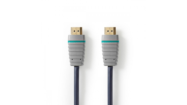 Bandridge BVL2101 Ultra High-speed Hdmi™-kabel Met Ethernet Hdmi-connector - Hdmi-connector 1,0 M Blauw