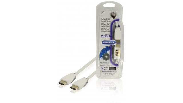 Bandridge Bbm34000w10 High Speed Hdmi met Ethernet Kabel 1,00 M