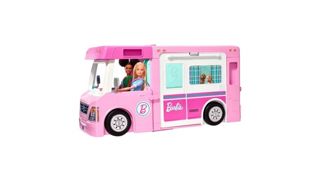 Barbie 3in1 Droomcamper Speelset