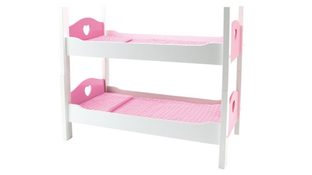 Poppenbed Stapelbed 54x29x43cm