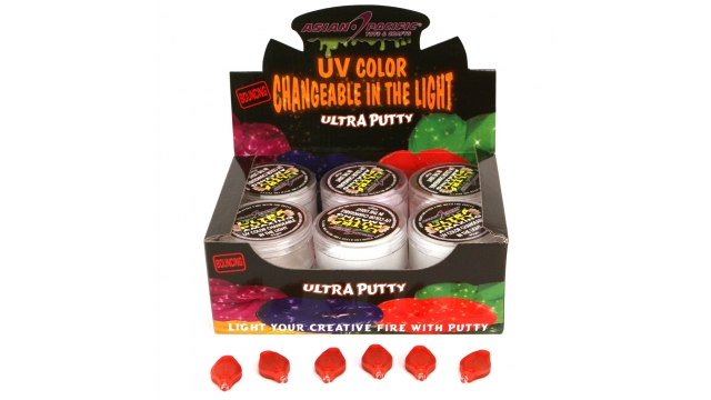 Putty 45 Gr UV Reagerend Display 12 Stuks