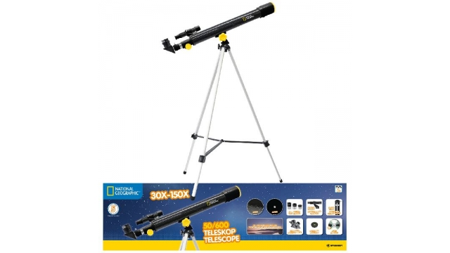 National Geographic Lenzentelescoop 50/600 + Statief