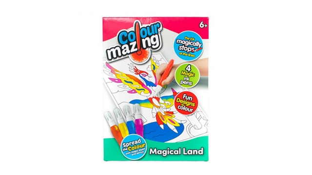 Colourmazing Magical Land