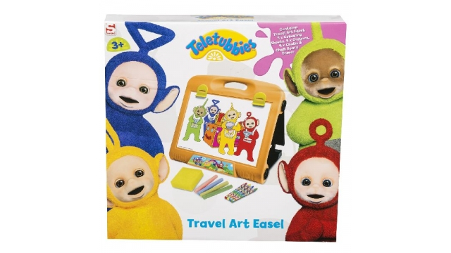 Teletubbies Travel Art Easel Set