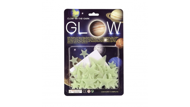 Glow In The Dark Sterren en Maan