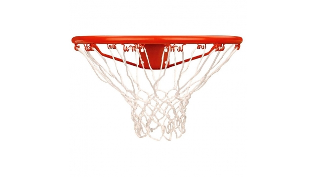 Basketbal Ring met Net Oranje