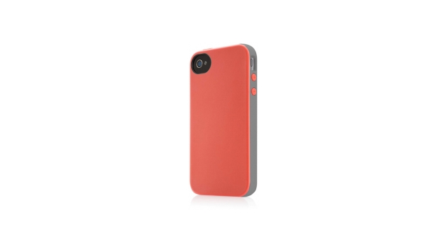 Belkin Hard Case Essential 031 Grijs/Roze voor Apple iPhone 4/4S