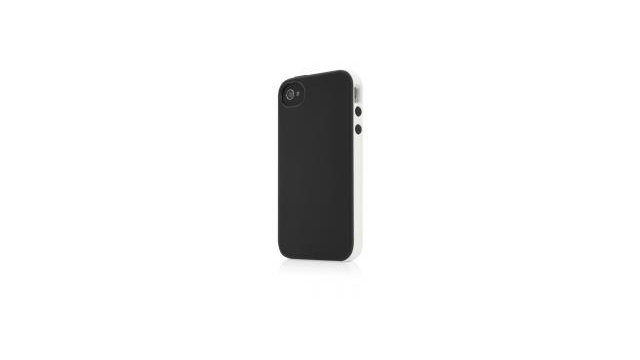 Belkin Hard Case Essential 031 Zwart/Grijs voor Apple iPhone 4/4S