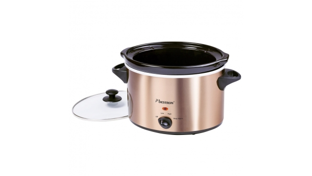 Bestron ASC450CO Slowcooker 4.5L Koper