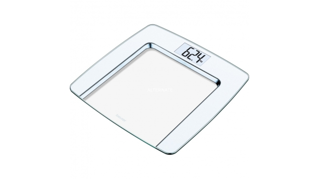 Beurer GS490 Digitale Personenweegschaal Wit/Glas