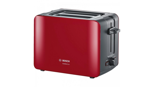 Bosch TAT6A114 Toaster 1090W Rood