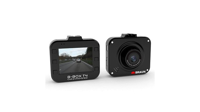 Braun Photo Technik Dash Cam B-Box T4 Zwart