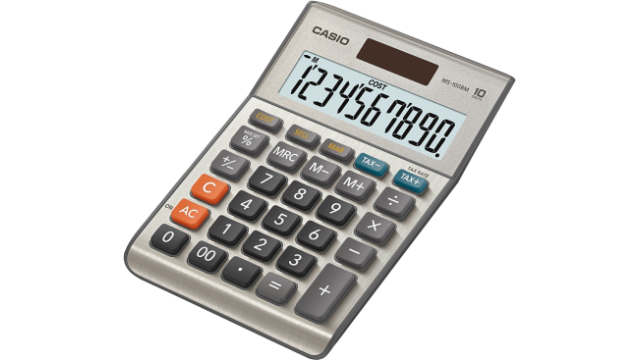 Casio MS-100BM Calculator