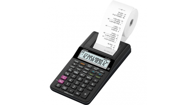 Casio HR-8RCE-BK Calculator