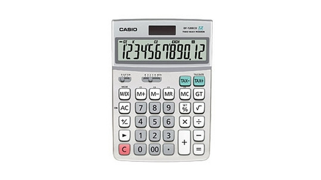 Casio DF-120ECO Calculator