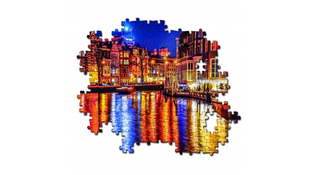 Clementoni High Quality Collection Puzzel Amsterdam 500 Stukjes