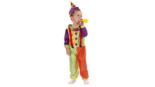 Clown Kinderkostuum Clown 3-4 jaar