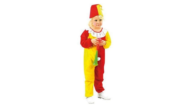 Clown Kinderkostuum Clowntje 3-4 jaar