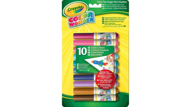 Crayola Color Wonder Mini Viltstiften 10stuks