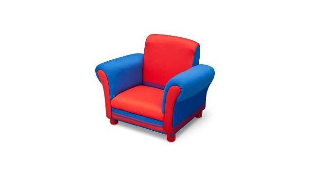 Delta Children UP85854GN Kinder Fauteuil Rood/Blauw