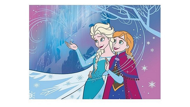 Disney Frozen Speelkleed Elsa en Anna 95x133cm