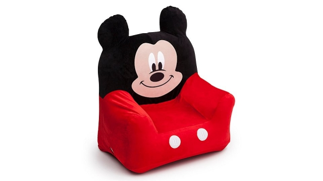Disney Mickey Mouse TC85718MM Opblaasbare Kinder Fauteuil