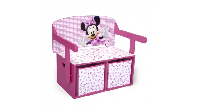 Disney Minnie Mouse TB84865MN 3in1 Bank / Bureautje met Opbergruimte