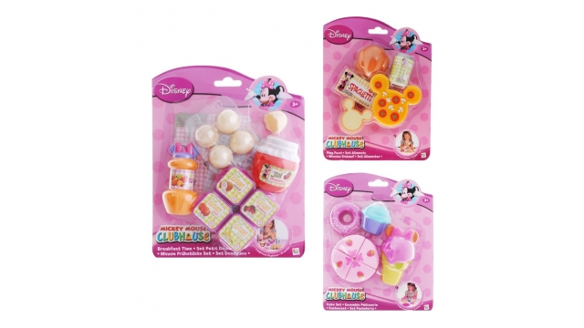 Disney Minnie Mouse Etenswaren Set Assorti